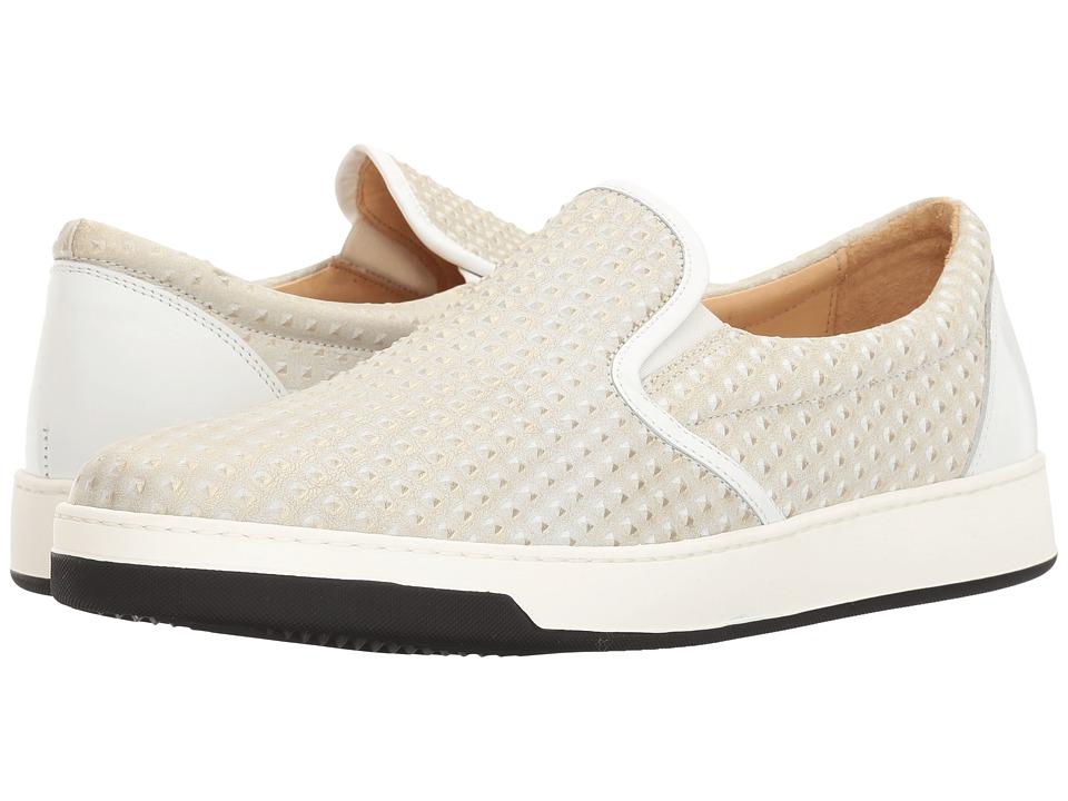 BUGATCHI - Pompeii Sneaker (Bianco) Mens Shoes