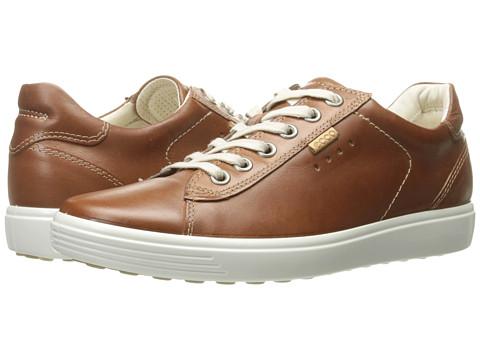 ECCO Soft Sneaker - Mahogany Cow Nubuck