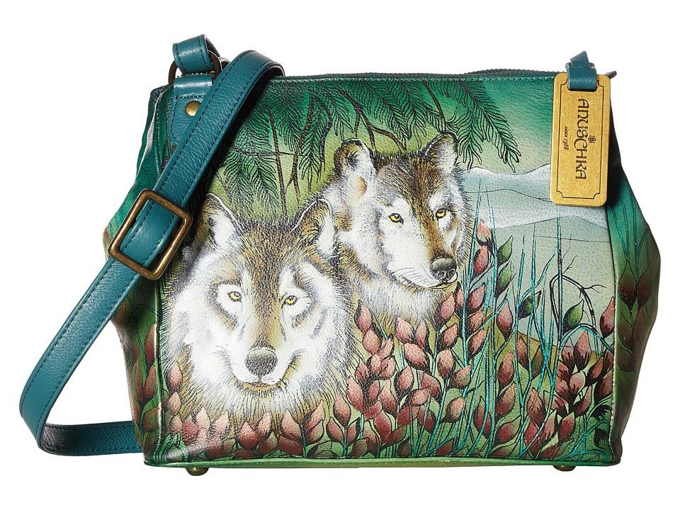Anuschka Handbags - 525 Triple Compartment Convertible Tote