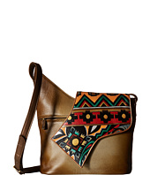 Anuschka Handbags - 257 Small Asymmetric Flap Bag