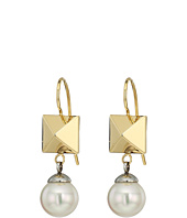 Majorica - Why Not? Two-Tone Frenchwire Earrings