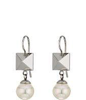 Majorica - Why Not? Silver Frenchwire Earrings