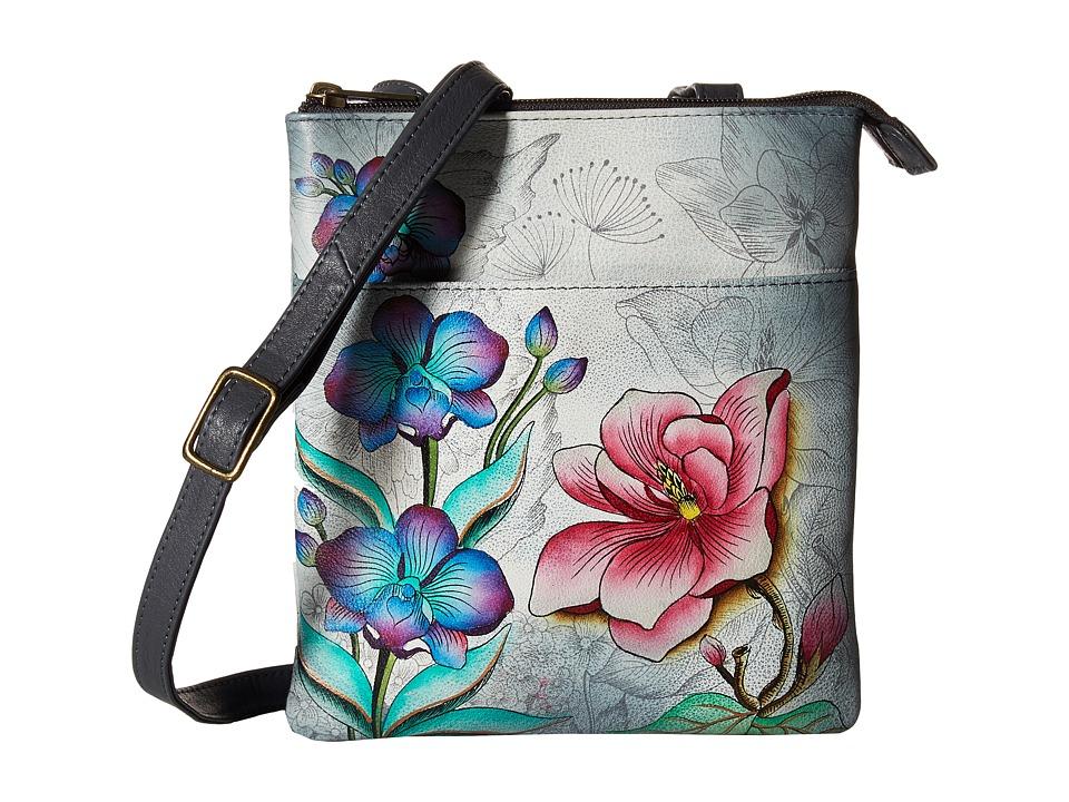 Anuschka Handbags - 596 RFID Blocking Triple Compartment Travel Organizer
