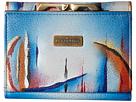 Anuschka Handbags 1138 RFID Blocking Small Flap French Wallet