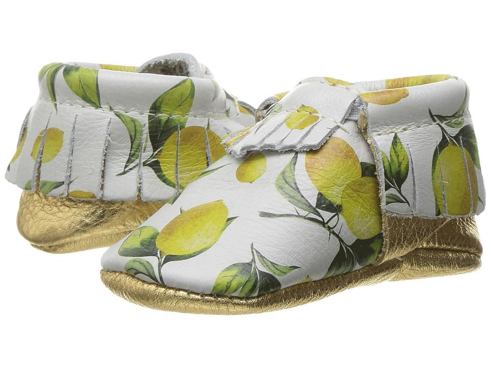 Freshly Picked Soft Sole Moccasins (Infant/Toddler) (Lemonade) Girl's Shoes