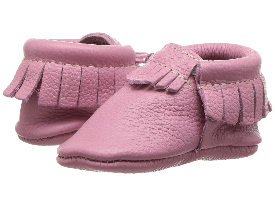Freshly Picked Soft Sole Moccasins (Infant/Toddler) (Peony) Girl's Shoes
