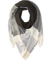 Steve Madden - Plaid Square Blanket Wrap