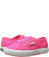 Superga Kids - 2750 Fabricmeshfluoj (Infant/Toddler/Little Kid/Big Kid)