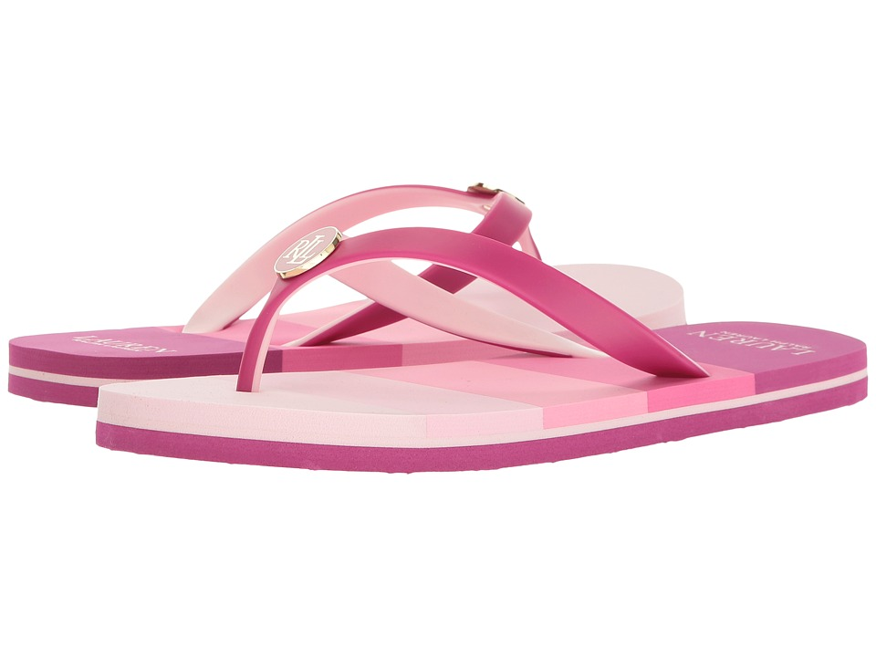 LAUREN Ralph Lauren Elissa III (Hot Pink) Women