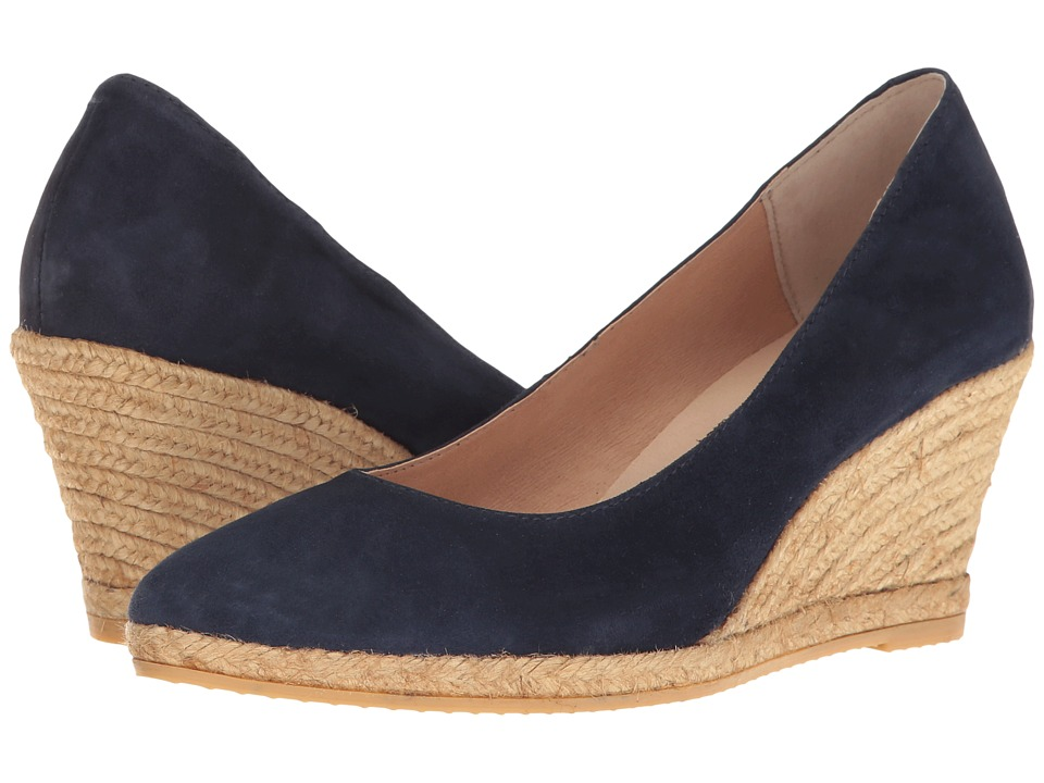 1940s Style Shoes, 40s Shoes Eric Michael - Teva Navy Womens  Shoes $129.95 AT vintagedancer.com