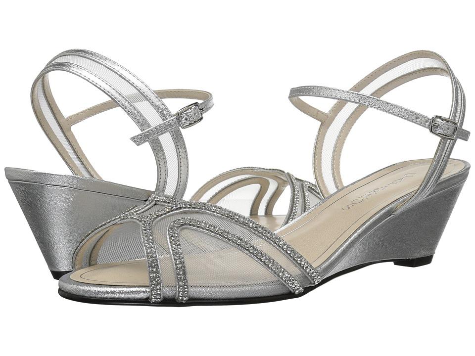 Caparros Hilton (Silver Metallic) Women