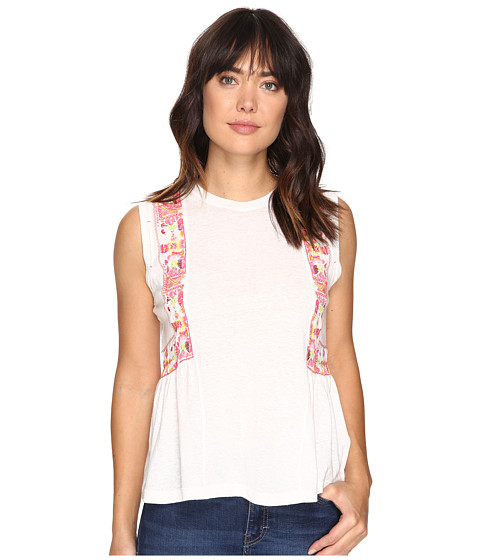 Free People Marcy Tank Top - Ivory