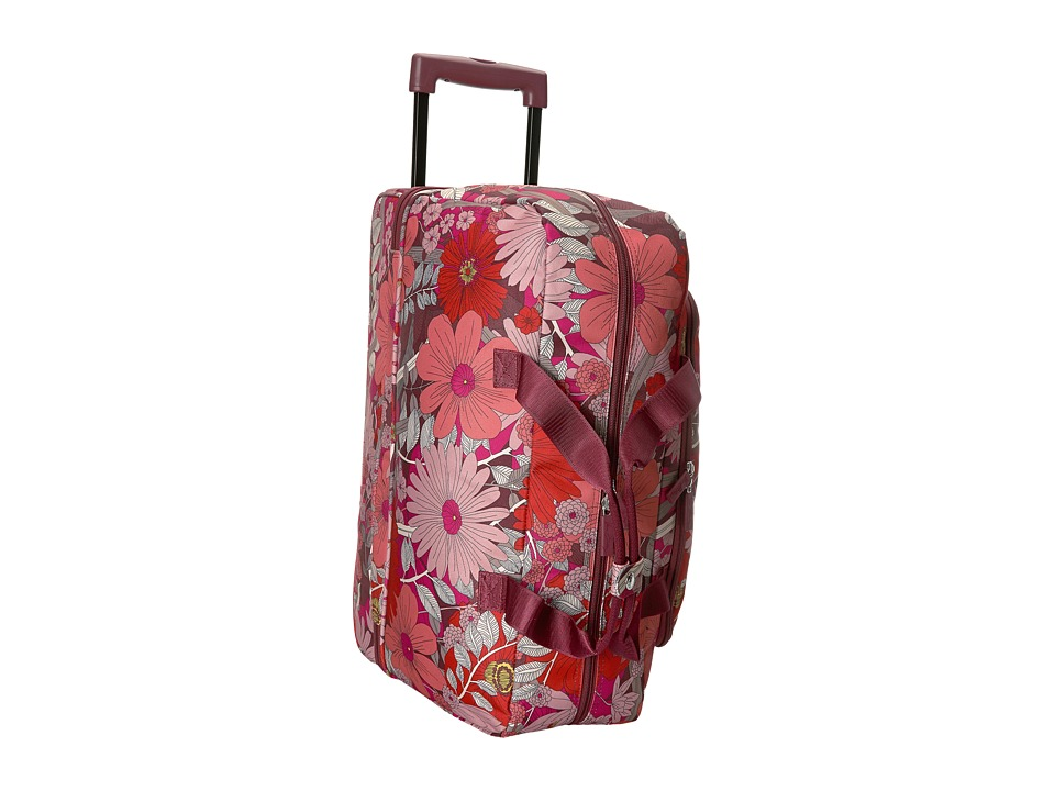 Vera Bradley Luggage Lighten Up Wheeled Carry-on (Bohemian Blooms) Carry on Luggage