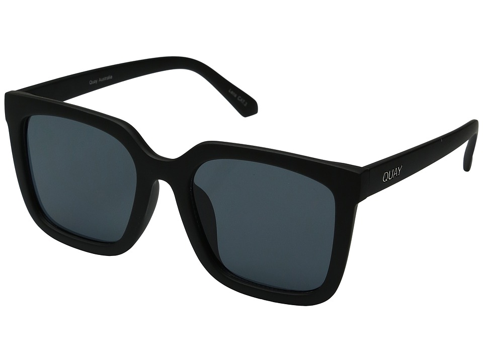 QUAY AUSTRALIA Genesis (Black/Smoke) Fashion Sunglasses
