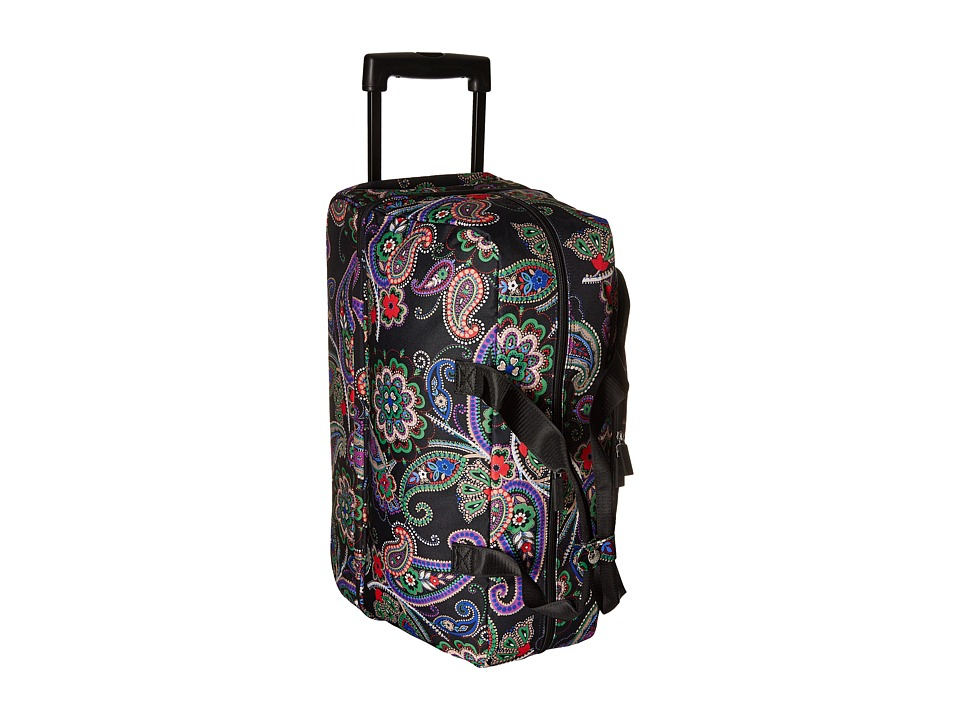 Vera Bradley Luggage Lighten Up Wheeled Carry-on (Kiev Paisley) Carry on Luggage
