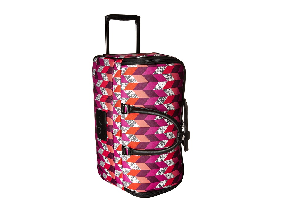 Vera Bradley Luggage 22 Rolling Duffel (Bohemian Chevron) Carry on Luggage