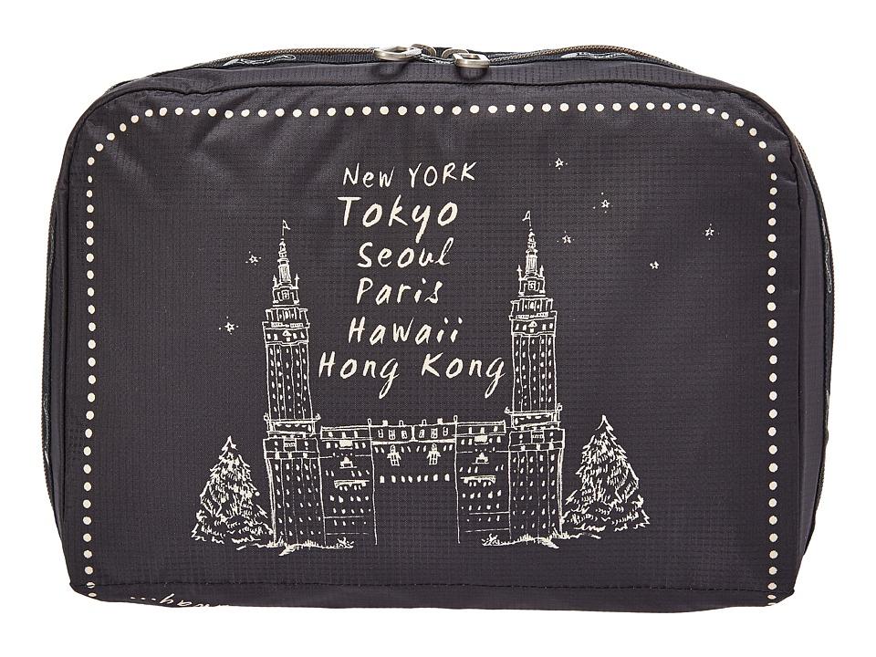 LeSportsac Luggage XL Essential Cosmetic (Far Far Away) Cosmetic Case