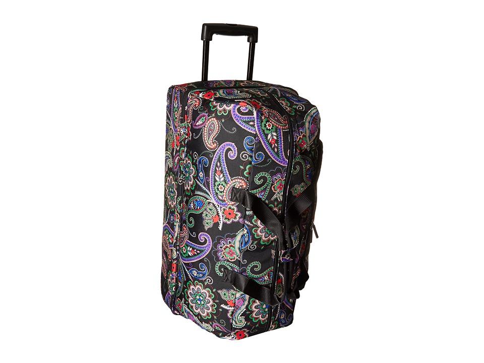 Vera Bradley Luggage Lighten Up Large Wheeled Duffel (Kiev Paisley) Duffel Bags