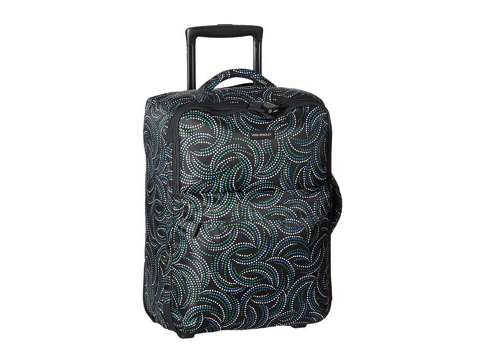 Vera Bradley Luggage Small Foldable Roller (Kiev Swirls) Carry on Luggage