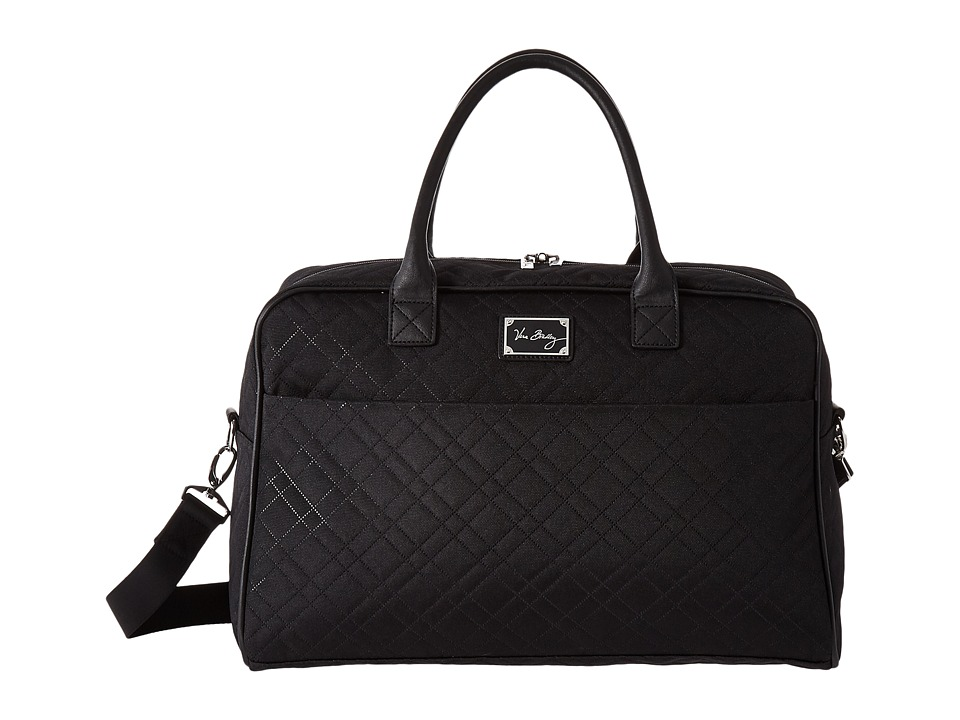 Vera Bradley Luggage - Jet Set Go Weekender (Classic Blac...