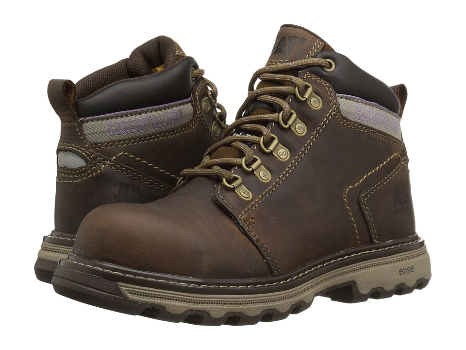 Caterpillar Ellie Steel Toe (Dark Beige) Women