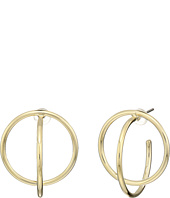 Cole Haan - Geometric C Hoop Earrings
