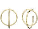 Cole Haan Geometric C Hoop Earrings