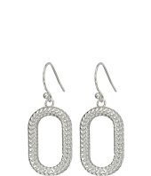 Cole Haan - Open Oval Drop Earrings