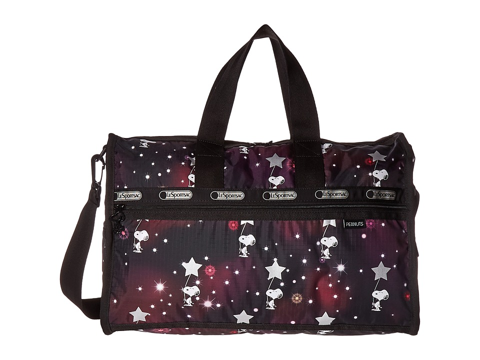 LeSportsac Luggage Medium Weekender (Snoopy in The Stars) Duffel Bags