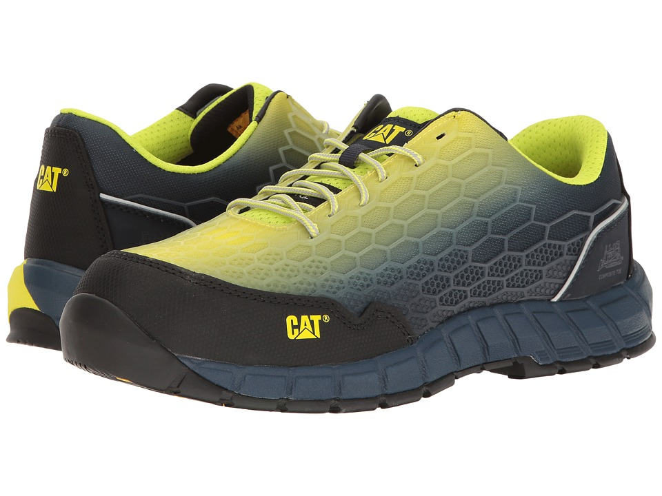 Caterpillar Expedient Composite Safety Toe (Lime Blue) Me...