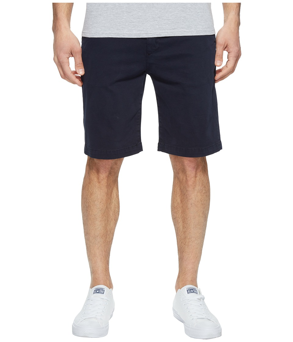 7 For All Mankind Luxe Performance Sateen Chino Shorts (Midnight) Men
