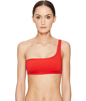 Stella McCartney - Neoprene & Mesh One Shoulder Top