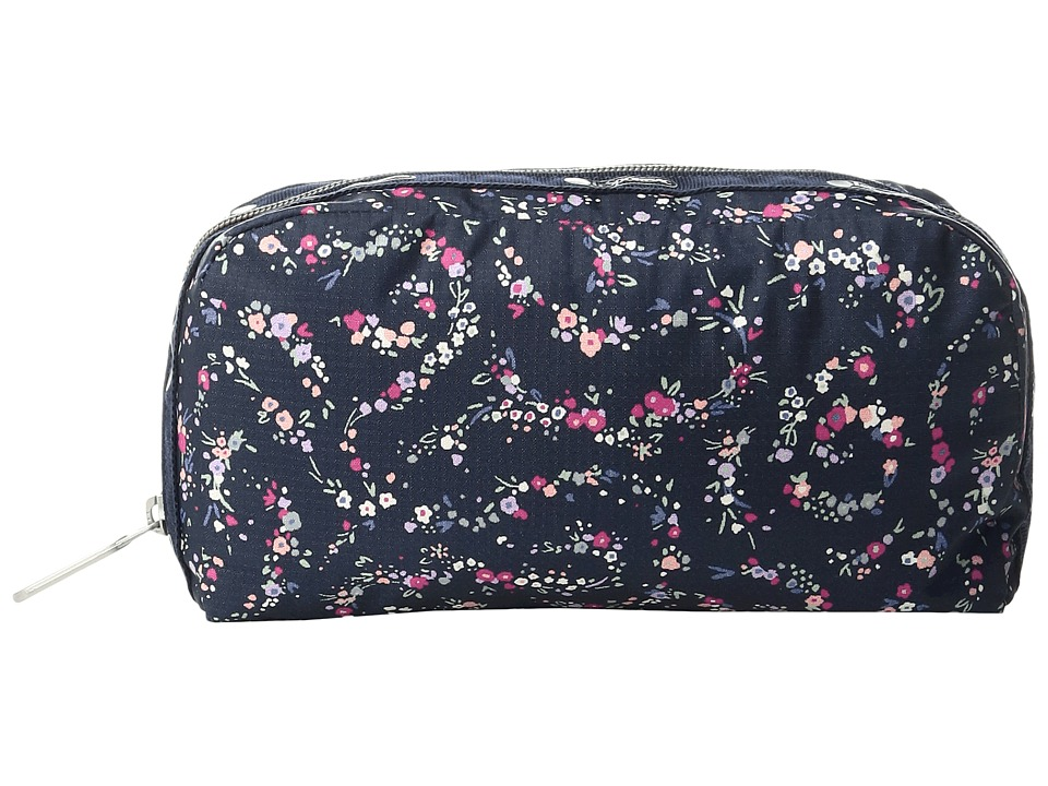 LeSportsac Essential Cosmetic Case (Fairy Floral Blue) Cosmetic Case