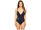 Stella McCartney Embroideries Floral One-Piece
