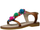 Elephantito Caribe Pom Pom Sandal (Toddler/Little Kid/Big Kid)