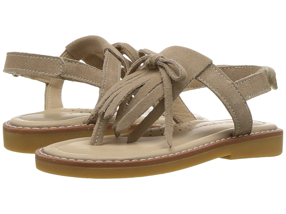 Elephantito Fringes Sandal (Toddler/Little Kid/Big Kid) (Sand) Girls Shoes