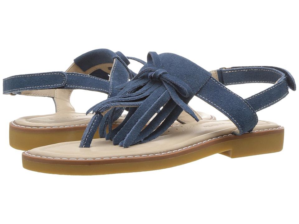 Elephantito Fringes Sandal (Toddler/Little Kid/Big Kid) (Dusty Blue) Girls Shoes