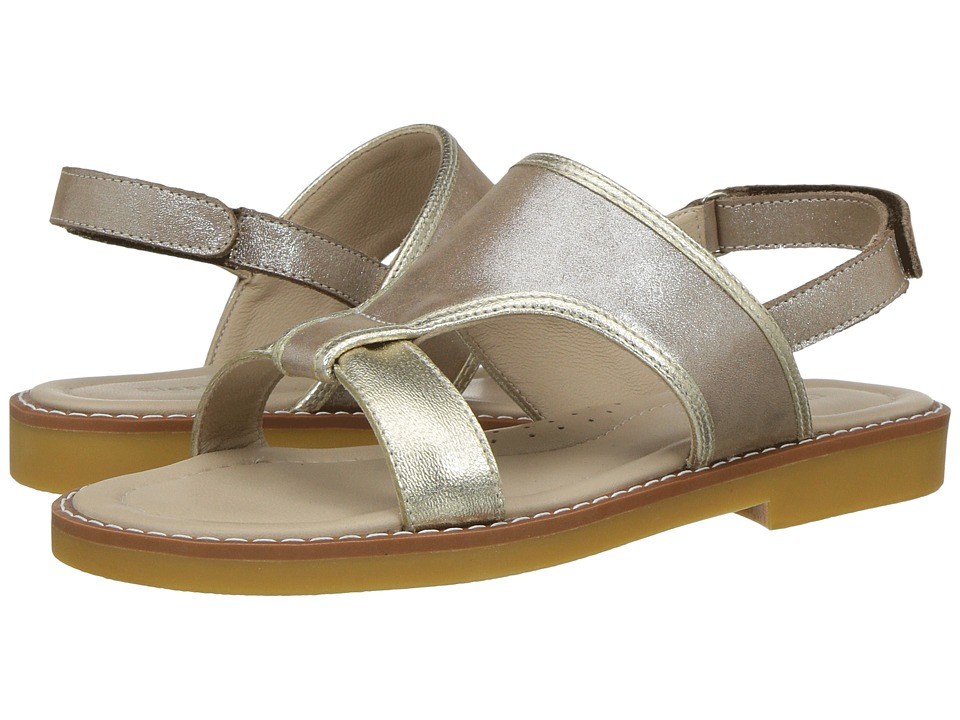 Elephantito Claudia Sandal (Toddler/Little Kid/Big Kid) (Gold) Girls Shoes