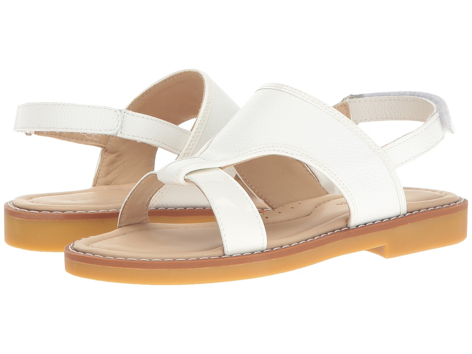 Elephantito Claudia Sandal (Toddler/Little Kid/Big Kid) (White) Girls Shoes