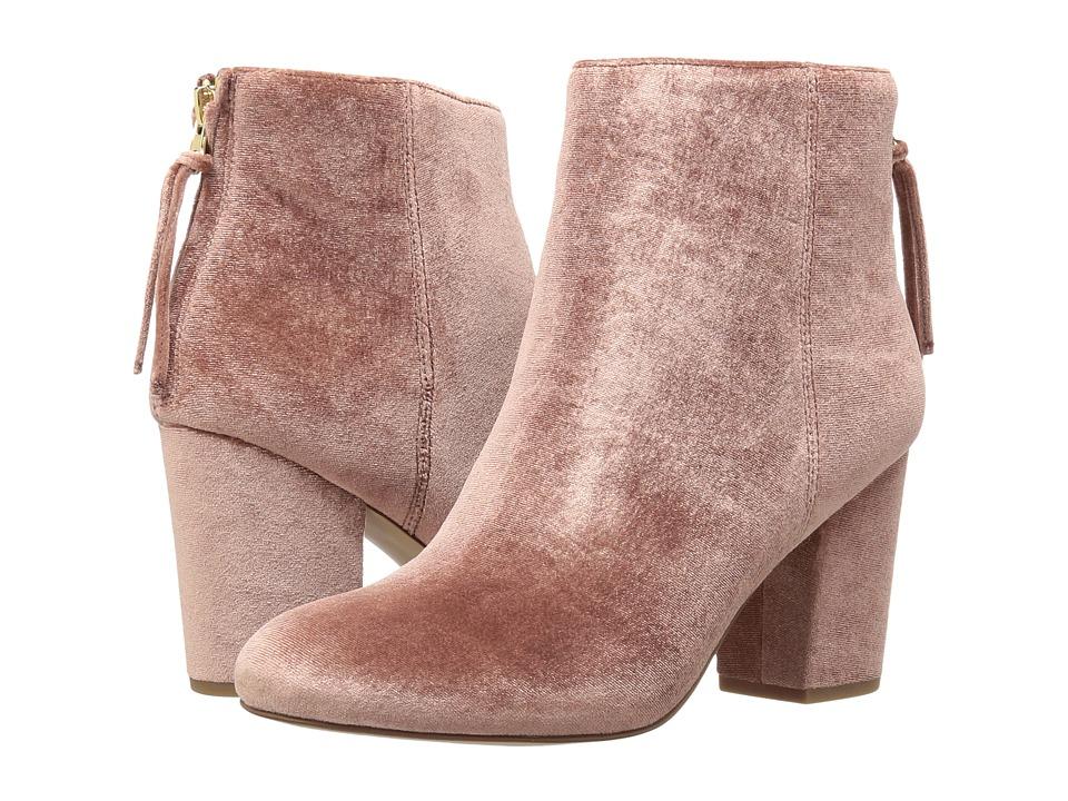 Steve MaddenCynthiav  (Pink Velvet) Womens Boots