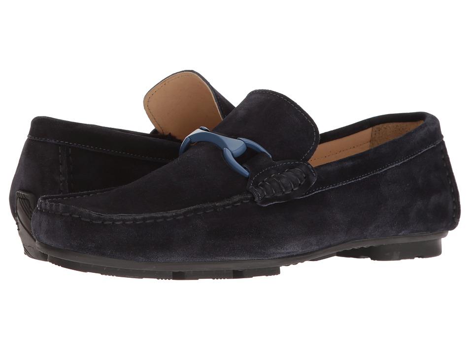 BUGATCHI - Napoli Driver (Blue) Mens Shoes