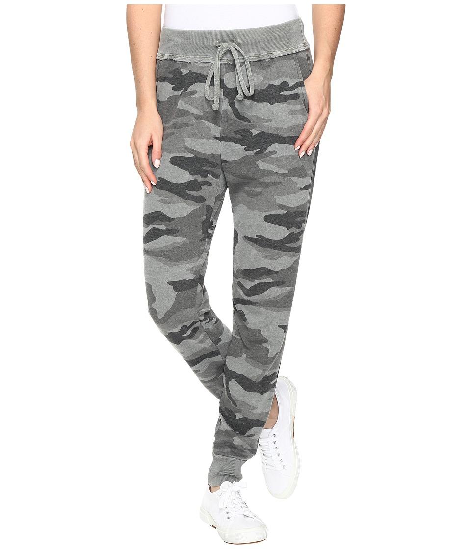 Splendid Camo Jogger (V Military Olive) Women's Casual Pants