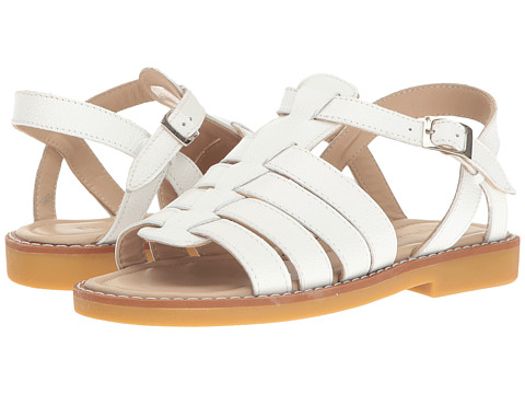 Elephantito Capri Sandal (Toddler/Little Kid/Big Kid) - White