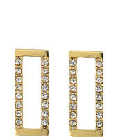 Rebecca Minkoff - Geo Rectangle Stud Earrings