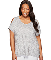 Marika Curves - Plus Size Elsa Cold Shoulder T-Shirt