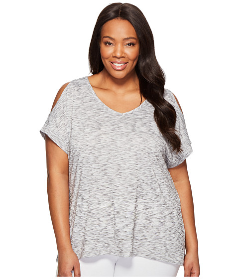 Marika Curves Plus Size Elsa Cold Shoulder T-Shirt