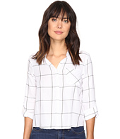 Jack by BB Dakota - Annatto Plaid Cropped Shirt