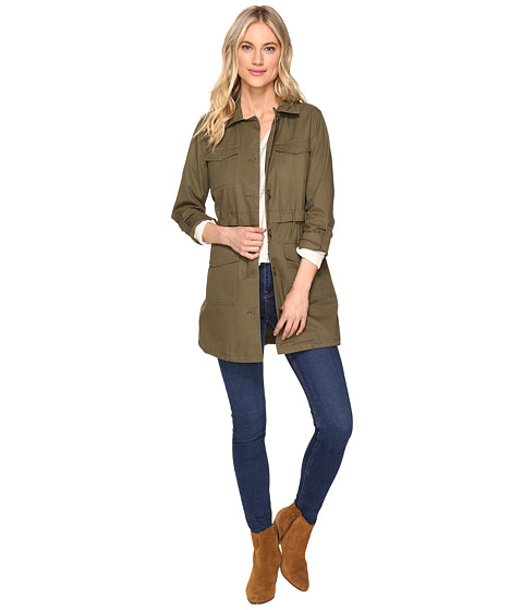 Jack by BB Dakota Antigone Heavy Canvas Washed Utility Coat