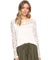 Jack by BB Dakota - Carya Top with Lace Trim
