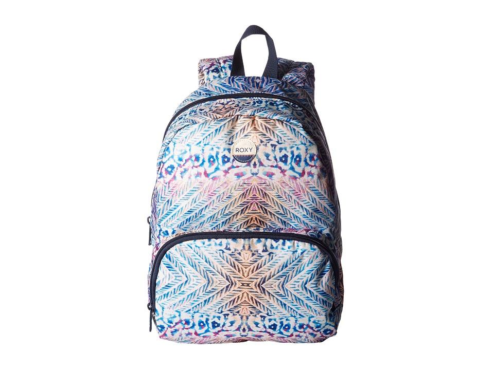 Roxy Always Core Backpack (Marshmallow Ax Labana Aguila) ...